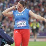 Natalia Duco registró su mejor lanzamiento del año y logra el segundo puesto en Ostrava