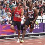 Cristián Reyes fue eliminado en las series clasificatorias de 200 metros planos