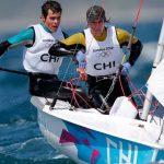 Benjamín Grez y Diego González no logran salir del último puesto en Vela categoría 470