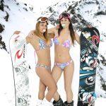 Inédita exhibición de freestyle esquí y snowboard en Valle Nevado