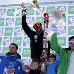 Cristián y María Elena Simari fueron los ganadores del FIS Continental Cup 'Stefano Pirola'