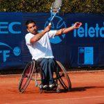 """Este jueves comienza el torneo """"Copa Banco de Chile"""" de tenis en silla de ruedas"""