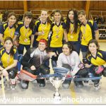 San Agustín logra el campeonato de la Liga de Honor Femenina de Hockey Patín