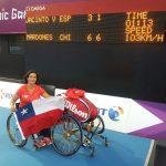 Resultados de los tenistas chilenos en los Juegos Paralímpicos