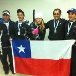 Chilenos obtienen medallas en primera jornada del Sudamericano de Tiro con Arco