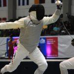 Felipe Alvear entrega segundo bronce para Chile en el Sudamericano de Esgrima