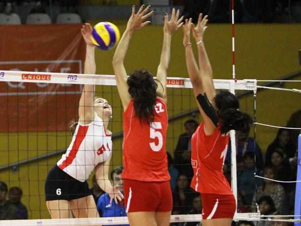 1db14f7438400 Selección Chilena Femenina Sub-20 de Volleyball se encuentra en el lugar 23  del ranking mundial