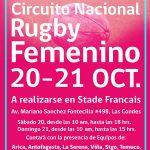 Arranca el Circuito Nacional Femenino de Rugby Seven a Side