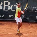 Gonzalo Lama fue eliminado en cuartos de final del Challenger Cachantún Cup