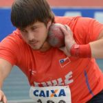 Joaquín Ballivian logra nuevo récord sudamericano juvenil de lanzamiento de la bala