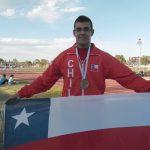 Medallas chilenas en el Sudamericano Menores de Atletismo