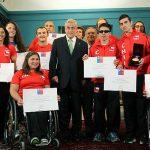 Presidente de la República recibió a deportistas olímpicos y paralímpicos en La Moneda