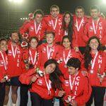 Medallas de oro y plata para el rugby chileno en Juegos Bolivarianos de Playa