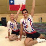 Dupla chilena logra medalla de bronce en el Panamericano de Gimnasia Aeróbica