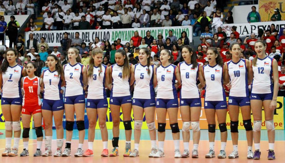 Chile Logra El Cuarto Puesto Del Sudamericano Menores Femenino De Volleyball El Deportero
