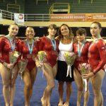 Medalla de bronce para la gimnasia chilena femenina en el Sudamericano de Argentina