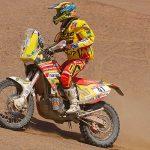 Claudio Rodríguez se mantiene como puntero de las motos en el Atacama Rally