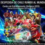 La Selección Masculina de Handball se despide rumbo al Mundial de España