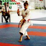 Karateca nacional Carol de la Paz participó en etapa del Karate 1 Premier League en Salzburgo