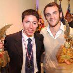 Tomás González y Cristián Valenzuela son premiados como los mejores deportistas chilenos del 2012
