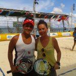 Francisca Zuñiga y Francisca Echeverria suben al puesto 89 del ranking mundial de beach tennis