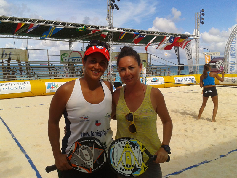 Francisca Zuñiga y Francisca Echeverria suben al puesto 89 del ranking  mundial de beach tennis – El Deportero