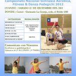 5° Fecha Campeonato Nacional Gimnasia Aeróbica 2012