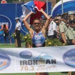 Valentina Carvallo se queda con el primer lugar del Ironman 70.3 de Pucón
