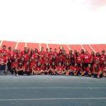 Deportistas nacionales graban spot publicitario para los Juegos Odesur Santiago 2014