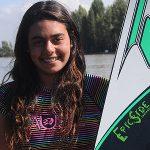 Fernanda Naser es la sexta mejor esquiadora juvenil del mundo