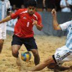 Chile pierde ante Argentina en las Clasificatorias al Mundial de Fútbol Playa