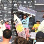 Leonardo Acevedo ganó el Billabong Reñaca Pro 2013 de surf