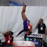 Makarena Pinto logra el cuarto lugar de salto en la etapa francesa de la Copa del Mundo