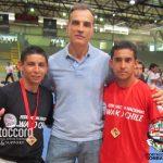Iván Salazar y Pablo Acuña clasificaron a los Sportaccord World Combat Games
