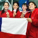 Chile alcanza 10 finales en el último día de la natación del Sudamericano Juvenil de Deportes Acuáticos