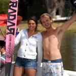 Pablo Castro y Fernanda Naser ganan el Campeonato Nacional de Esquí Naútico