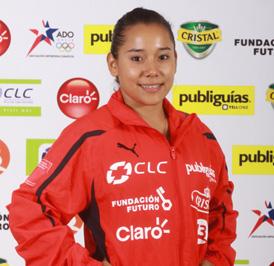 Makarena Pinto obtuvo el cuarto puesto de salto en Torneo de Maestros de Cottbus