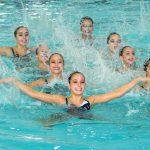 Chile rozó el podio del nado sincronizado en el Sudamericano Juvenil de Deportes Acuáticos