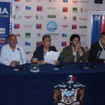 Este viernes se realizó el lanzamiento del Campeonato Sudamericano Juvenil de Deportes Acuáticos
