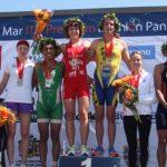 Jason Wilson y Lydia Waldmüller ganaron el Triatlón Panamericano ITU Viña del Mar 2013