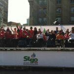 La Plaza de Armas de Santiago recibió eI lanzamiento de los I Juegos Parasudamericanos