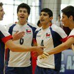 Selección Menor de Volleyball Masculino clasifica a segunda ronda de torneo italiano
