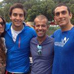 Felipe y Rodrigo Miranda listos para su debut en el Moomba Masters 2013