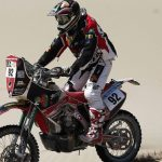 Jeremías Israel sufre accidente y se retira del Rally de Abu Dhabi