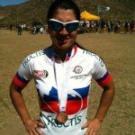 Mariela Scott gana medalla de bronce en el Panamericano de Mountain Bike