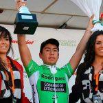 Ciclista puertomontino Adrián Alvarado se queda con la Clásica Torredonjimeno en España