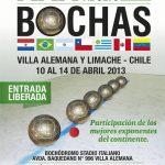 Con triunfo chileno comenzó el Sudamericano de Bochas en Villa Alemana