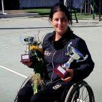 Francisca Mardones perdió la final del Chilean Open de tenis en silla de ruedas