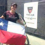 Francisca Mardones se coronó campeona de dobles en el Texas Open Wheelchair Championships
