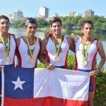 Chile finaliza el Sudamericano de Remo con 5 medallas de oro
